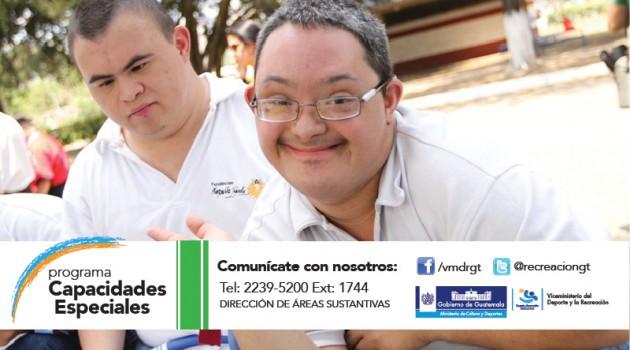 PROGRAMA CAPACIDADES ESPECIALES