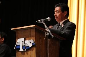 Ministro de Cultura y Deportes Carlos Batzín