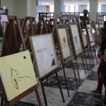 Estudiantes exponen obras DE ARTE en la Biblioteca Nacional