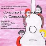 """Quinto Concurso Internacional de Composición """"Gitarrentage Für Kinder im Saarland"""""""