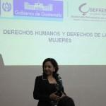 La labor de la SEPREM  es muy importante para ir impulsando cambios a favor de la mujer, dijo Ivette González, Subdirectora de Políticas Públicas.