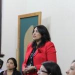 Lilly Murga es la delegada del ministro de Cultura y Deportes, junto a Eustaquia Hernández, para poner en marcha una Dirección de la Mujer.