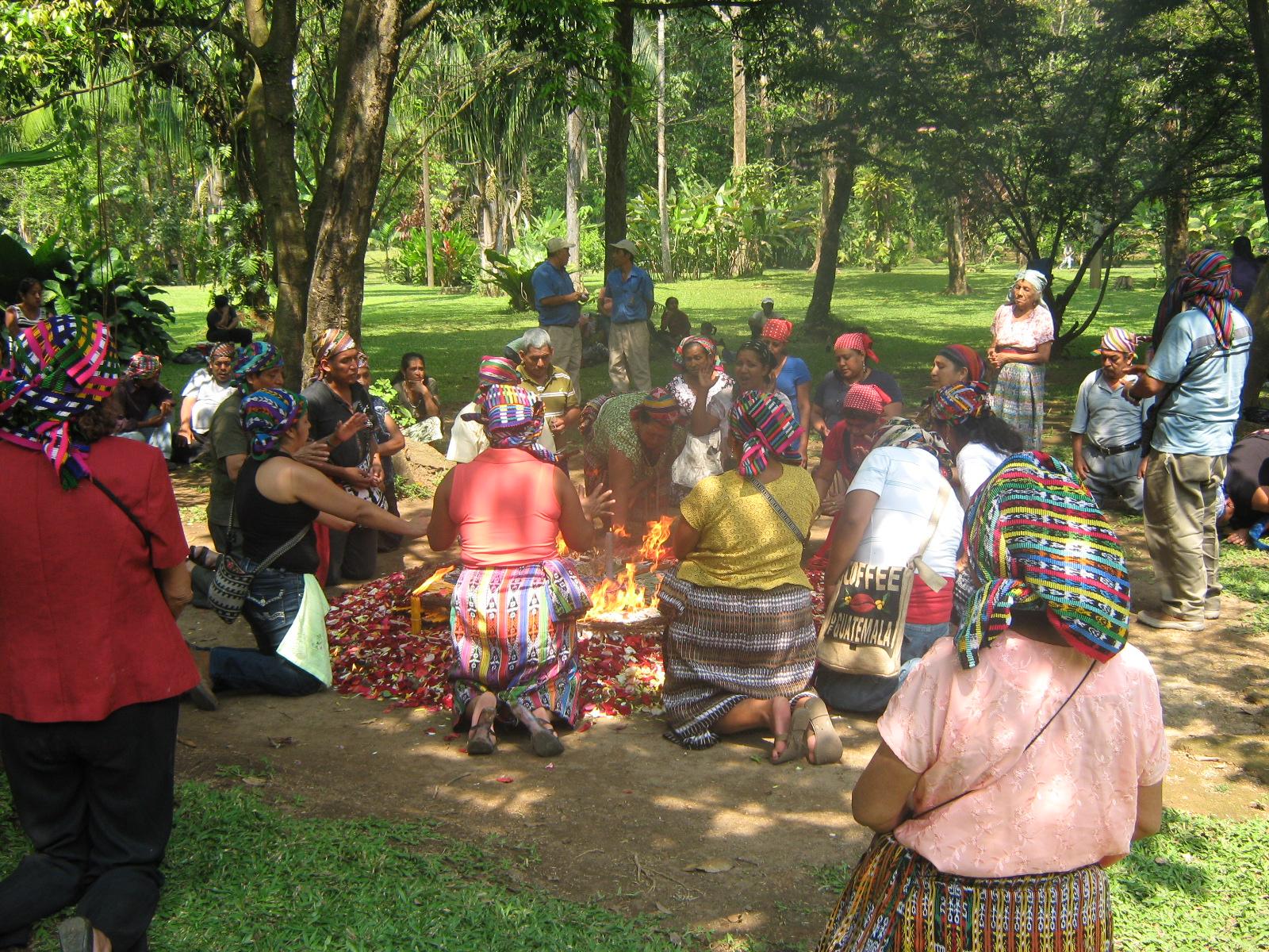 Ceremonia Maya, Tak'alik Ab'aj, El Asintal, Retalhuleu