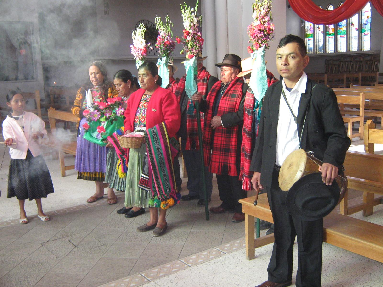 Ceremonial de La Pa'ach, San Pedro Sacatepéquez, Sann Marcos
