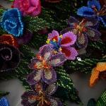 artesanías elaboradas con mostacilla
