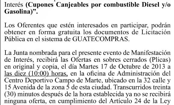 convocatoriaGasolina