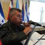 Carlos Chaclán, artista guatemalteco de la cerámica y experto en instrumentos musicales prehispánicos.