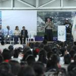 Mario Caxaj, del Ministerio de Cultura y Deportes, felicitó al municipio por la inauguración de la nueva academia de artes en dibujo y pintura.