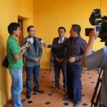 Representantes de la Comisión de Valorización del Centro Cívico y del MICUDE