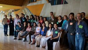 Participantes del Taller de Derechos Humanos.
