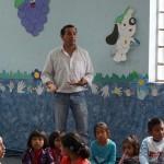 """Víctor """"Chico"""" Paz coordinador del curso de vacaciones."""