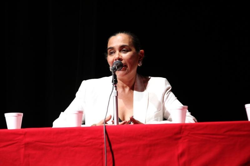Ana Luz Castillo compartió experiencias durante sus años de gestión en las artes escénicas y la administración pública.