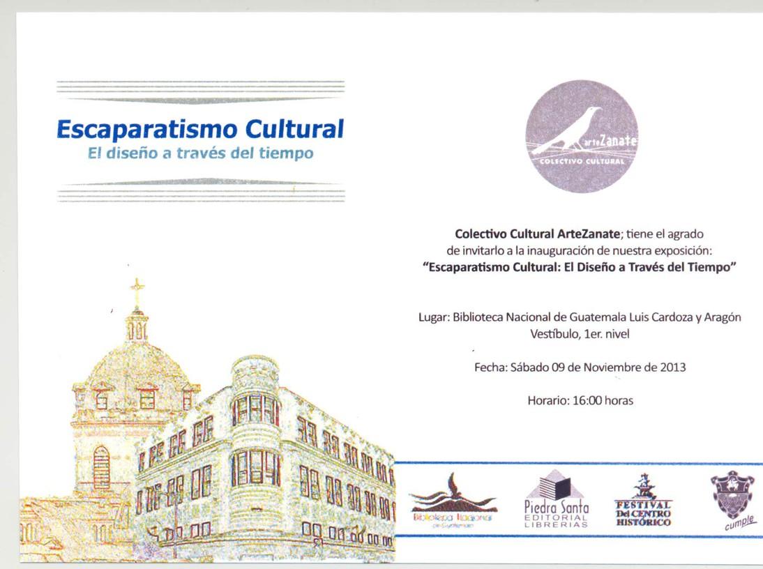 INVITACIÓN ESCAPARATISMO CULTURAL