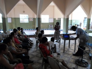 Sensibilización a estudiantes de nivel medio en Livingston, Izabal 23-05-13