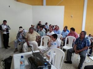 Taller de información y capacitación en San Miguel Morazán, El Tejar, Chimaltenango