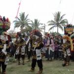 Danza Rabinal Achí se está presentando en Rabinal, B.V.