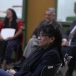 Rosa María Chan, Viceministra de Patrimonio Cultural y Natural participó en el Taller, junto a funcionarios de ese Viceministerio
