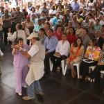 El público disfrutó y bailó desde el inicio hasta el cierre del Concierto.