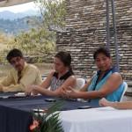 Rosa María Chan, Viceministra de Patrimonio Cultural y Natural ofreció palabras de agradecimiento a CEMCA por el trabajo que se ha realizado en conjunto con el MCD.