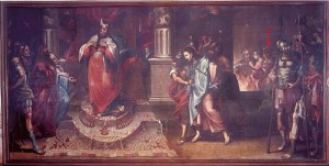 Jesús ante Caifás y la negación de Pedro