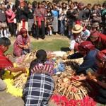 Numerosas personas se dieron cita en Kaminaljuyu.