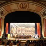 Actividad Cilca en el Teatro Municipal de Quetzaltenango.