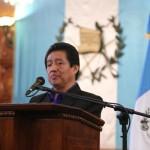 Carlos Batzin, titular del MCD, realizó una descripción del proceso del plan de acción.