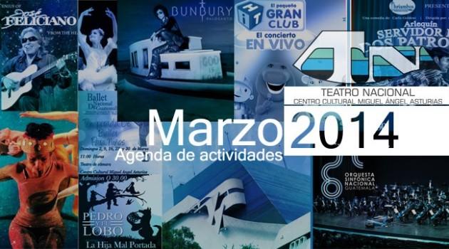 banner web agenda de actividades ccmaa marzo 2014