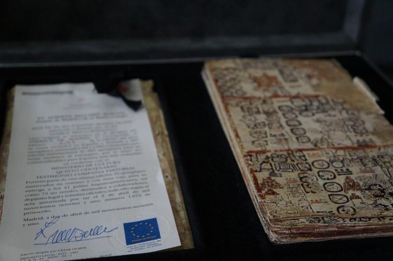 Facsimil certificado del Códice de Madrid.