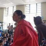 """La academia de Teatro del Museo del Ferrocarril presentó la obra """"Caperucita Roja""""."""