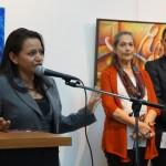 Clariza Castellanos, Viceministra de Cultura, inauguró la exposición de los 94 años de la ENAP