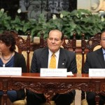 Miguel Álvarez representó a Carlos Batzin, Ministro de Cultura y Deportes y Norman Rosales y Lucrecia Villagrán a la escuela de Padres.