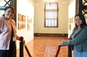 Administradora del Palacio Nacional y Viceministra de Cultura, re inauguraron la galería Kilómetro Cero.