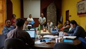 Técnicos y Profesionales del MCD participaron en el taller realizado con la CONRED