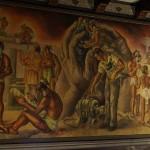 Mural encuentro de culturas