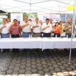 Autoridades locales y Viceministra de Cultura, participaron en este histórico momento para sembrar árboles de hormigo.
