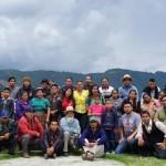 Grupo participante del taller de Epigrafía Maya