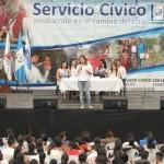Servidores cívicos son capacitados en parque Erick Barrondo