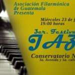 Realizarán Noche de Jazz en el Conservatorio Nacional