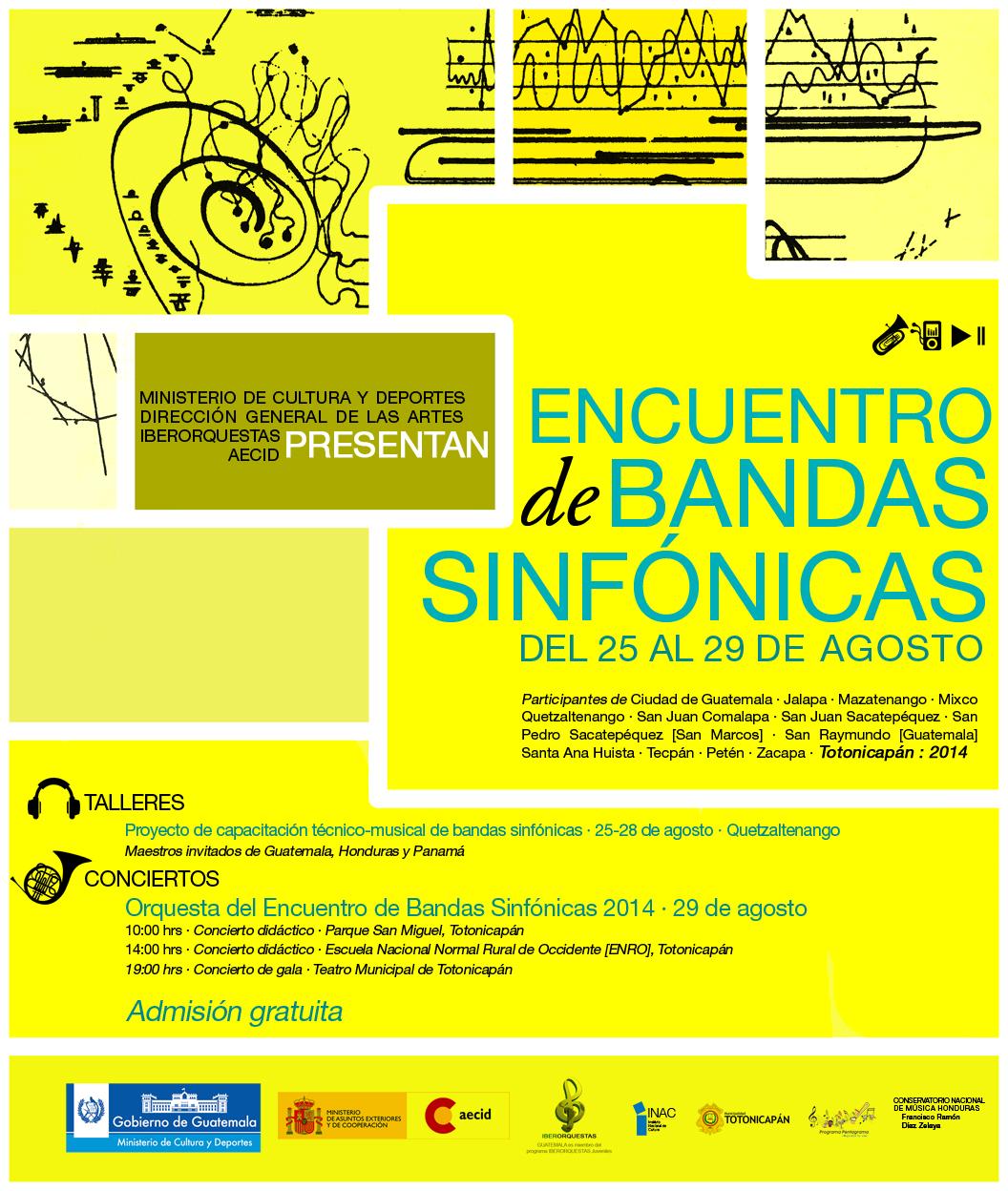 Encuentro de bandas sinfónicas, Toto2014 - Web