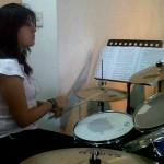 Jóvenes músicos asisten a encuentro de bandas1431