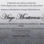 Fallece actor guatemalteco Víctor Monterroso