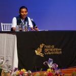 Escritor guatemalteco dictó conferencia sobre literatura y cultura08933