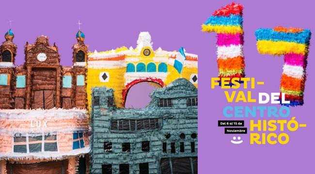 banner festival del centro historico