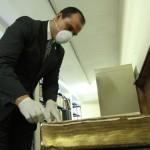 Ministro Pezzarossi supervisa donación de libros en Biblioteca Nacional