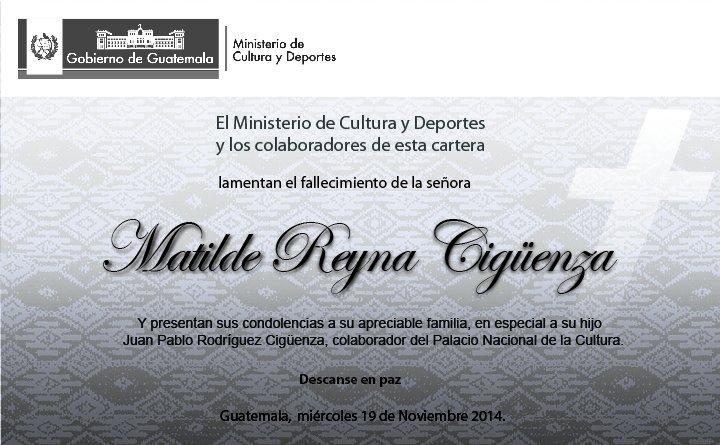 Esquela Sra Matilde Reyna-01