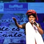 Deslumbrante participación de niños y jóvenes cantantes en Teatro de Cámara