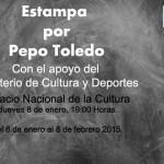 Inauguración de la Exposición Estampa por Pepo Toledo