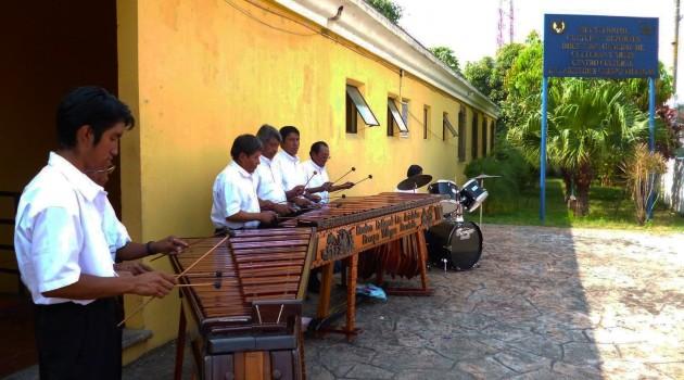 Marimba de Concierto Centro Cultural de Escuintla 2