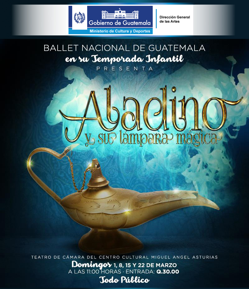 afiche ballet guatemala